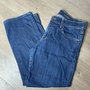 7FAM | Medium Wash Carsen Ankle Crop Jeans